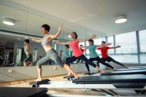 Movement Class in Gym / Studio