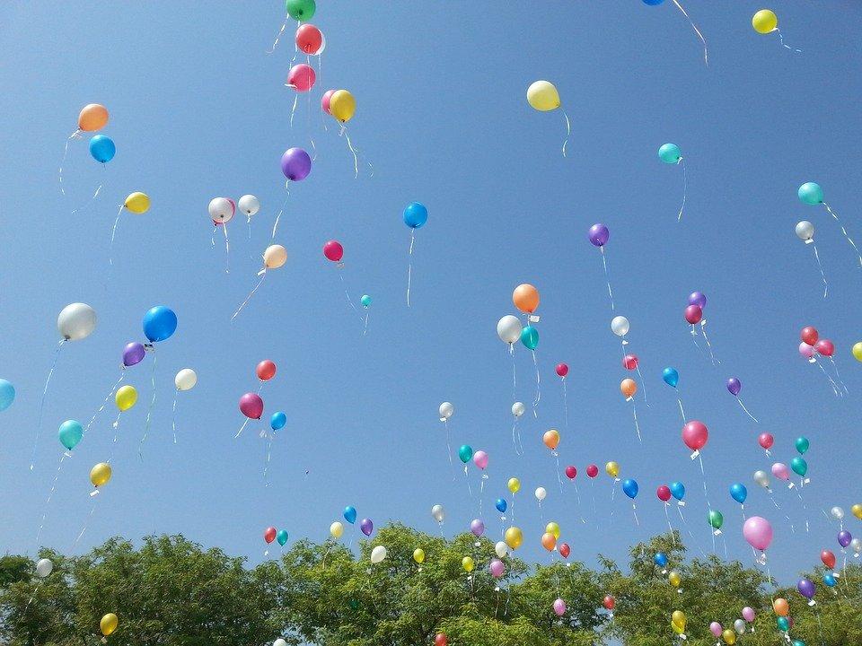 Happy balloons