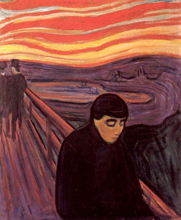Despair by Edvard Munch