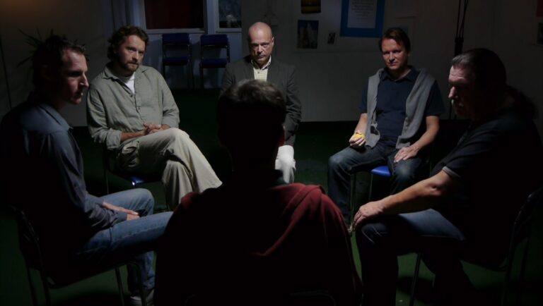 Men's Group Therapy Session