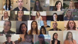Collage of Sexual Assault Survivors Read Stanford Victim's Letter