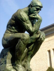 Rodins The Thinker Sculpture